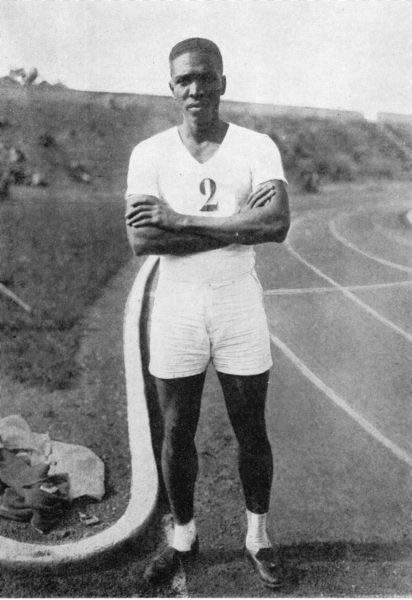 1928 Sylvio Cator, 2e au saut en longueur